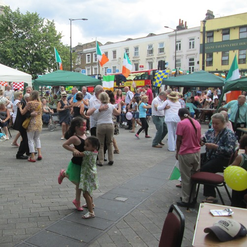 article IRISH DAY MAIDA HILL PIAZZA