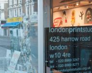London Print Studio, Harrow Rd